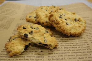 オートミールチョコチップクッキー(4~5cmのクッキー約30~40枚分) (レシピ付き)【6~9月夏季クール便】