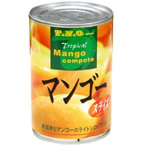 【N】マンゴースライス(シロップ漬け・ライト) 425g)