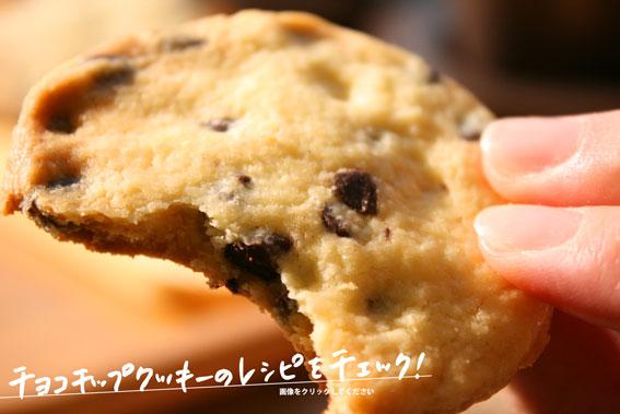 チョコチップクッキーレシピ