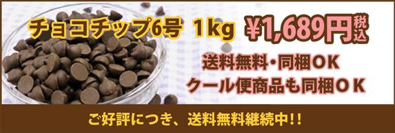 チョコチップ送料無料